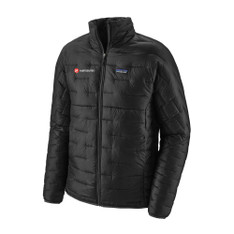 Men's Micro Puff Jacket With Embroidered Logo